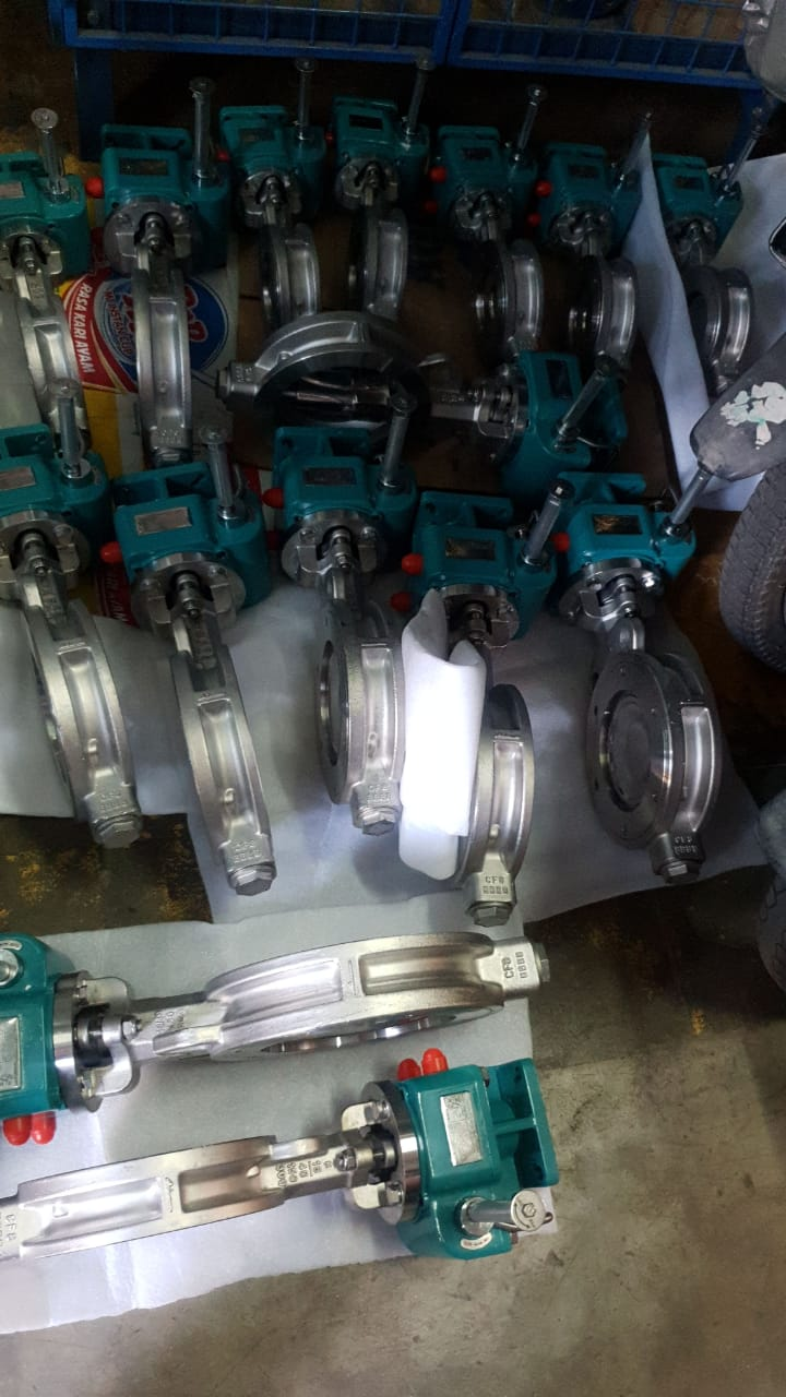 Butterfly Valve All Body Sus 304 Disc 304 Seat metal to metal ansi 150